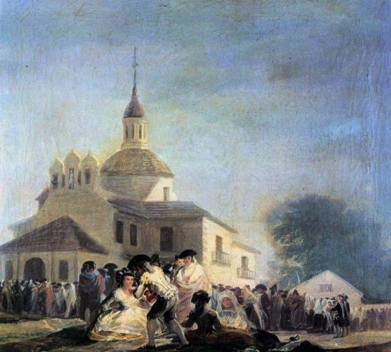 La historia de San Isidro, muy ligada con las pinturas de Goya
