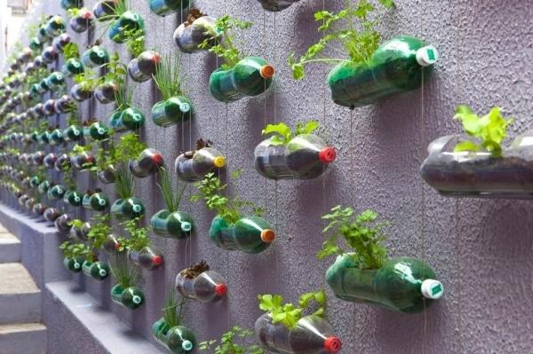 Impresionante jardín vertical diseño de Rosenbaum