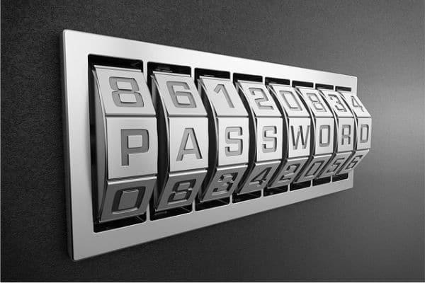 Foto de una combinación con la palabra Password
