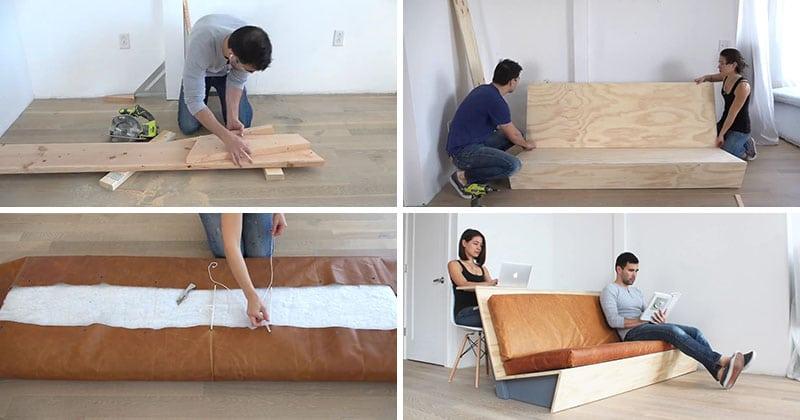 Sofa mesa dos en uno
